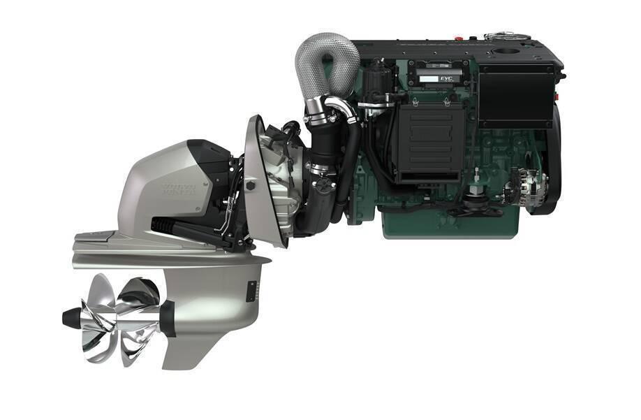 VOLVO PENTA D4-300/DPI