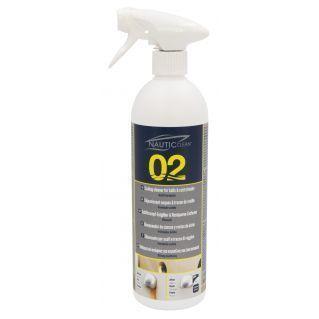 NAUTIC CLEAN 02 DÉJAUNISSANT COQUES ET COULURES DE ROUILLE 750ML