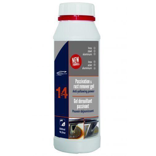NAUTIC CLEAN 14 GEL DEROUILLANT PASSIVANT 500ML